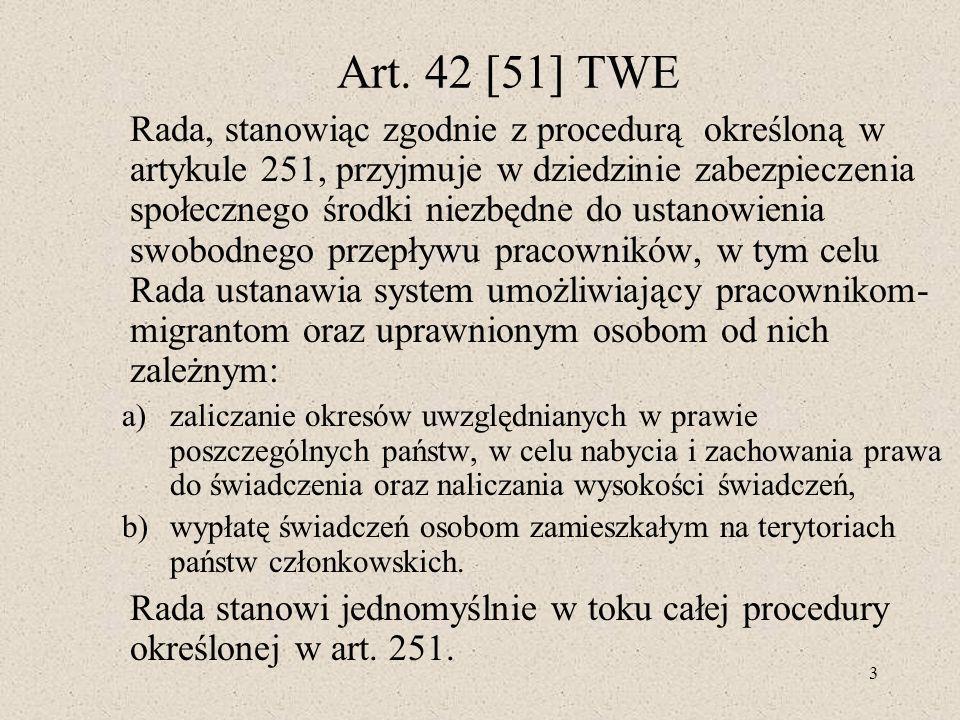Art. 42 [51] TWE